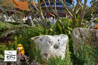 The 2017 Epcot International Flower and Garden Festival - Did you spot the Egg?