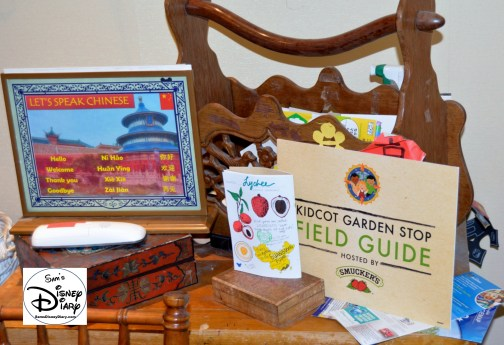 The 2017 Epcot International Flower and Garden Festival - Kidcot fun stops, rethemed as the KidCot Garden Stops, pick up your field guide.