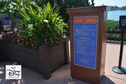 The 2017 Epcot International Flower and Garden Festival - lotus House outdoor kitchen and menu