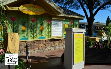 The 2017 Epcot International Flower and Garden Festival - One of the Outdoor Kitchens - Pineapple Promenade