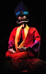 """""""The Great Destini"""" a fortune telling robot that looks more like a Muppet than an audio-animatronic figure. - an early entry into Artificial intelligence."""