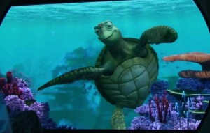 """Turtle Talk with Cruse - """"Digital Puppetry in action."""