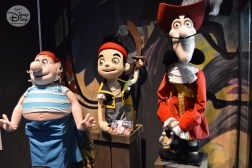 Captain Hook, Smee and Jake from Disney Jr live on stage