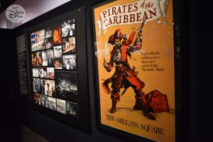 Concept models show the history of Pirates of the Caribbean. From Wax figure walk through to the attraction we know today