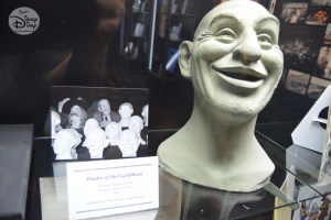 A Pirate animated figure head, sculptured by Blaine Gibson in 1966