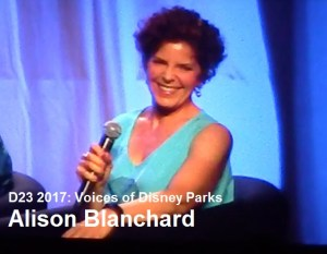 D23 Expo 2017 - Voices of the Parks - Alison Blanchard