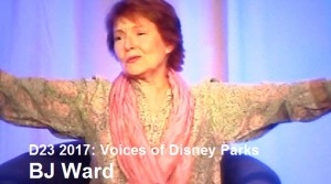 D23 Expo 2017 - Voices of the Parks -BJ Ward