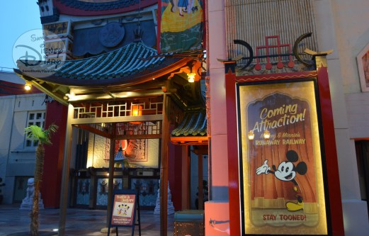 """Hard to miss that the Move Magic projection show takes place on what was home to """"The Great Movie Ride"""""""