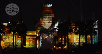 Guardians of the Galaxy make their Hollywood Studios Debut during Movie magic