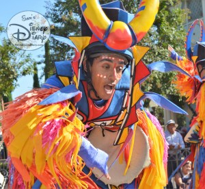 Lots of Dancers are part of Simba's Beastly Beats during the Disneyland Soundsational parade