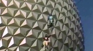 SamsDisneyDiary #101: EPCOT Center Daredevil Circus Spectacular as seen during the 1987 Christmas Day Parade