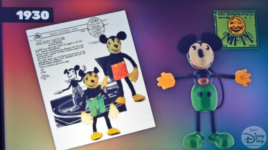 The Product Legacy Breakout At The D Highlights The History Of Disney Merchandise