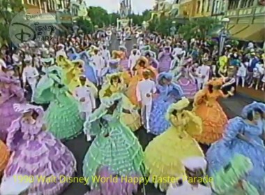 1990 Walt Disney World Happy Easter Parade - Right Down Main Street USA
