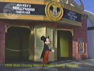 1990 Walt Disney World Happy Easter Parade - Mickey's Star Land is now open at the Magic Kingdom, featuring the new show Mickey's TV World.