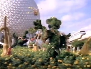 1995 Walt Disney World Easter Day Parade New Topiary's for the 1995 Epcot Flower and Garden Festival