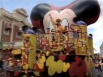 1995 Walt Disney World Easter Day Parade New Mickey Mania Parade