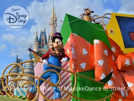 SamsDisneyDiary Episode #117: Walt Disney World Magic Kingdom Move It, Shake It, mouskeDance It Street Party New for 2019