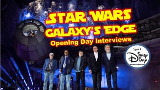 Star Wars Galaxy's Edge Opening Day Interviews and imaginer first look