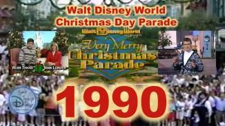 1990 Walt Disney World Christmas Day Parade