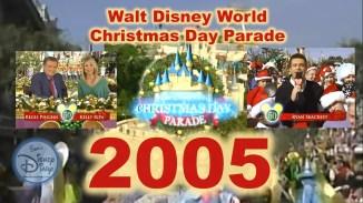 2005 Walt Disney World Christmas Day Parade