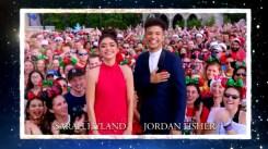 2018 Walt Disney World Christmas Day ParadenHosted by Sarah Hyland and Jordan Fisher with Jesse Palmer in Disneyland