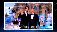 2018 Walt Disney World Christmas Day ParadenHosted by Sarah Hyland and Jordan Fisher with Jesse Palmer in Disneyland guests Matteo & Andrea Bocelli