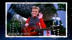 2018 Walt Disney World Christmas Day ParadenHosted by Sarah Hyland and Jordan Fisher with Jesse Palmer in Disneyland guests Maddie Poppe