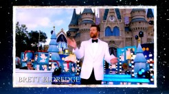 2018 Walt Disney World Christmas Day Parade Hosted by Sarah Hyland and Jordan Fisher with Jesse Palmer in Disneyland guests Brett Eldredge