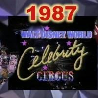 Walt Disney World Celebrity Circus 1987