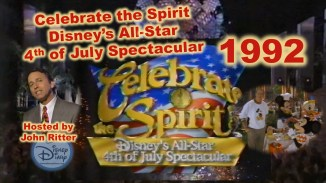 Celebrate the Spirit: Disney's All-star 4th of July Speculator (1992) Host John Ritter