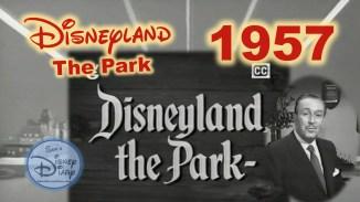 Disneyland The Park 1957