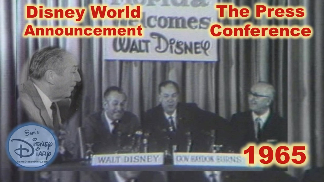 Disney World Announcement 1965 The Press Conference with Walt Disney