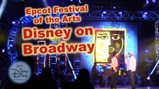 Festival of the Arts Disney on Broadway live Kissy Simmons and Alton Fitzgerald White