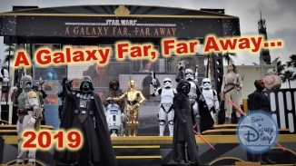 Star Wars a galaxy far far away from Walt Disney World Hollywood Studios 2019