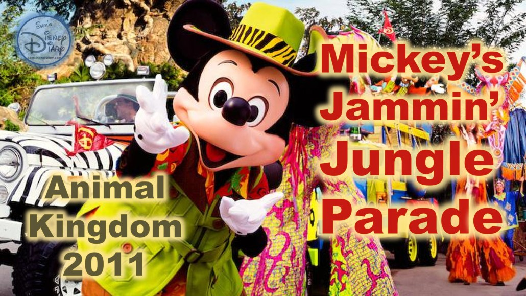 Mickey's Jammin' Jungle Parade m Feature