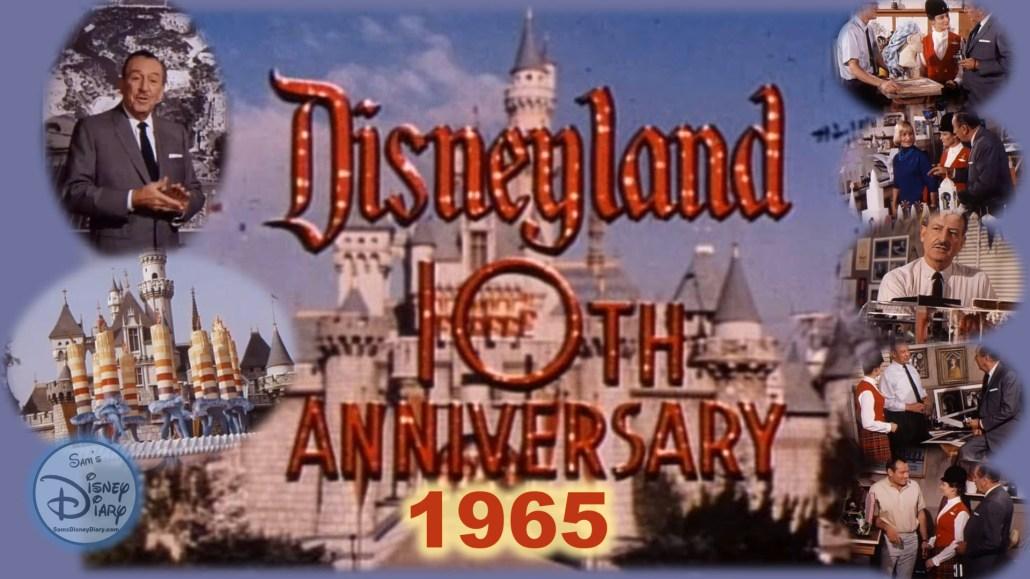 Disneyland 10th Anniversary Special Walt Disney with Julie Reihm Disneyland Ambassador
