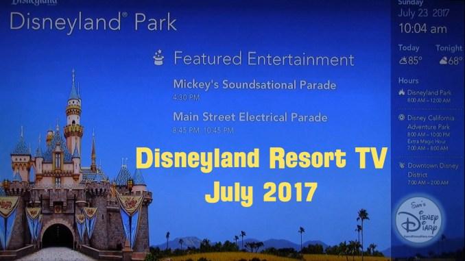 Disneyland Today Disneyland Resort TV Disneyland Resort 2017