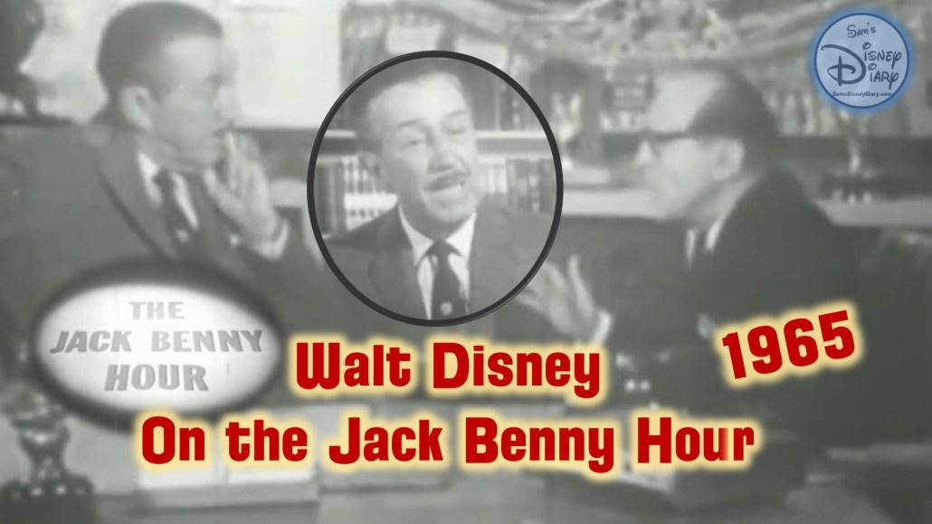 Walt Disney On the Jack Benny Hour (Original B&W – 1965)