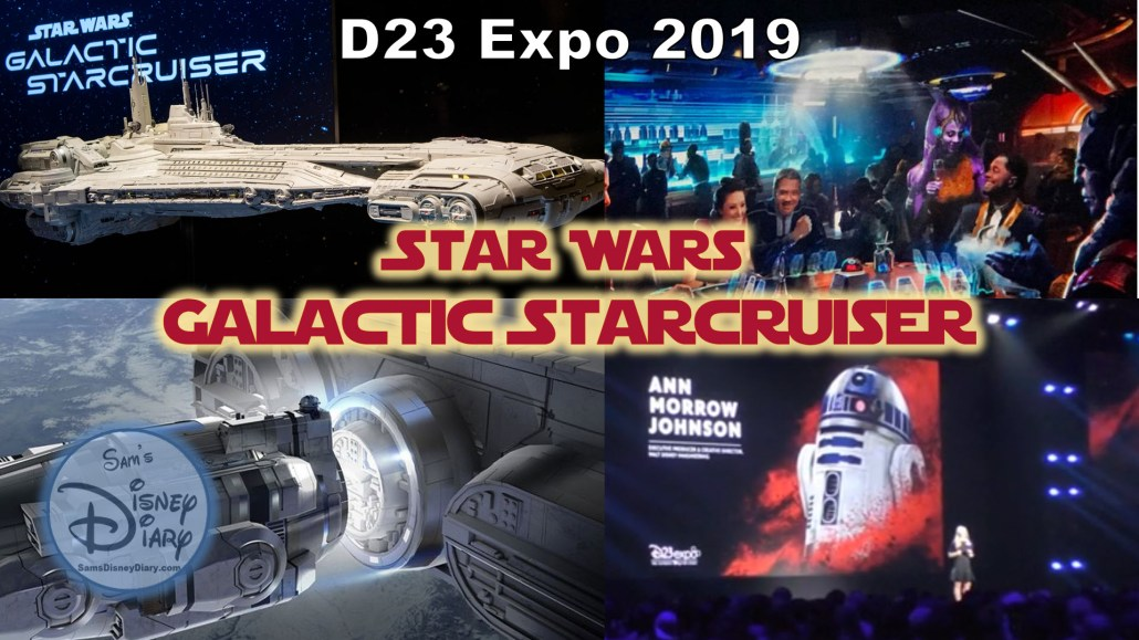 D23 Expo 2019 - Star Wars Galactic Starcruiser details