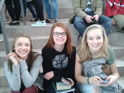 Victoria, Lembo and Vanessa