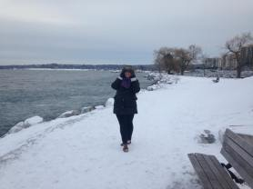 Winter adventures with my sister in our home town