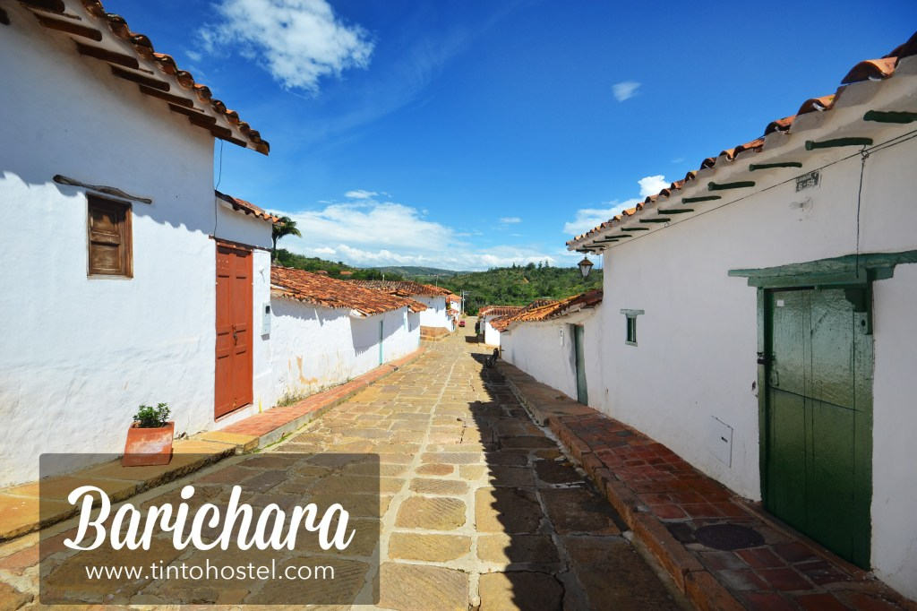 Barichara Santander Colombia Streets