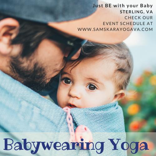Babywearing Yoga Promo