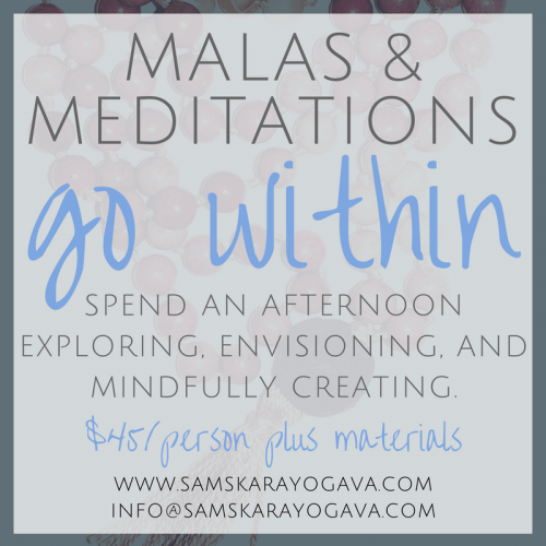 Malas & Meditations