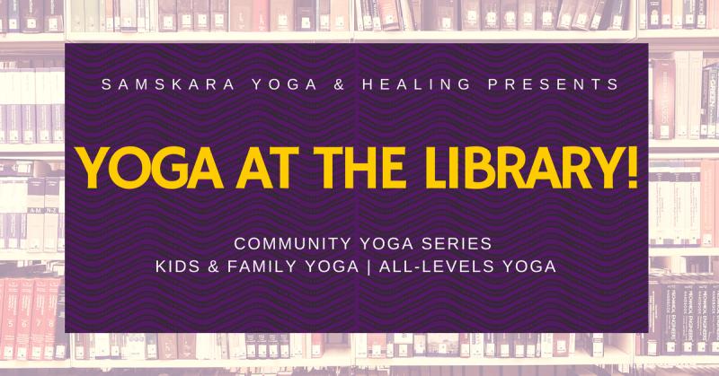 yoga at the library samskara yoga