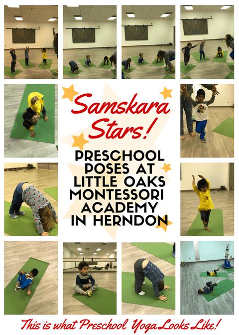 Samskara Stars LOMA kids yoga