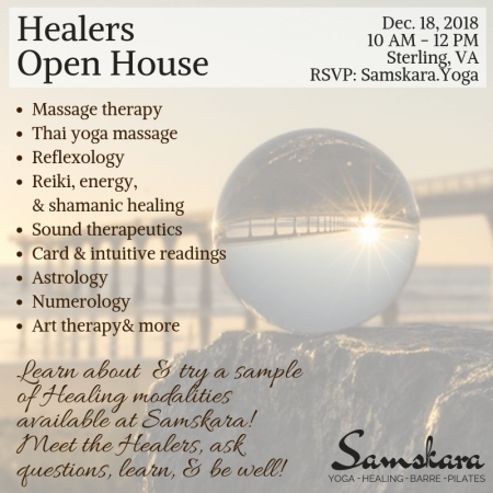 Healers Open House SMM Square