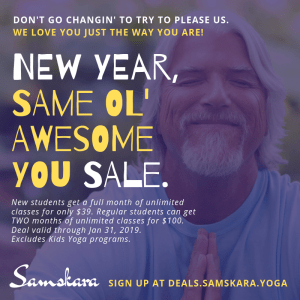 January 2019 Yoga Deal Samskara Yoga Dulles Sterling Ashburn
