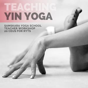 yin yoga CEU teacher training