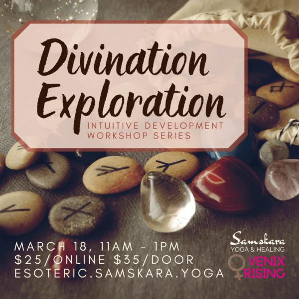 divination exploration intuition development samskara yoga healing dulles ashburn sterling